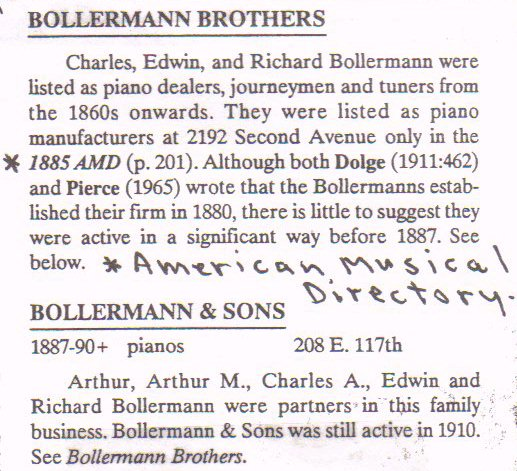 Reference Entry - Bollerman