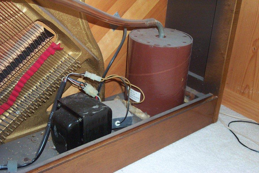 Isolation Transformer, Fuse Box, and Vacuum Pump
